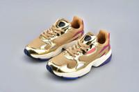 цены на обувь оптовых-2019 новый высокое качество низкая цена FALCON W мужские и женские кроссовки, Мода Спорт Повседневная обувь eur 36-45