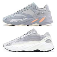 size 40 8db9e 4ba4d Adidas yeezy 700 boost scarpe grigio Bianco Gum nero bianco Donna sneaker  sportivo sezione speciale aumentato Jogging mens scarpe da corsa eur 36-44