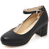 asakuchi ayakkabıları toptan satış-Hot2019 Toka Bir Sezon Asakuchi Ayakkabı Tek Ayakkabı Kadın 707