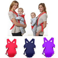 Wholesale baby carrier 15kg resale online - 2019 Brand New Adjustable Baby Infant Toddler Newborn Safety Carrier Four Position Lap Strap Soft Baby Sling Carriers dc021
