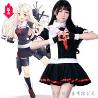 ingrosso madre del giappone-Giappone Comic Yuudachi cambiare due Vestiti Cosplay Uniform Fleet Collection Nave da guerra Madre Seaman Abbigliamento Femminile