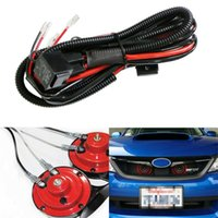 Wholesale relay wiring kit for sale - Group buy 2019 NEW Hot Sale V Horn Wiring Relay Kit For Car Truck Grille Mount Blast Tone Horns Dropshipping Montaje Blast Tone Cuernos