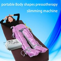 Wholesale muscle massage machines for sale - Group buy New arrival Air Pressure Slimming Machine Pressotherapy cellulite reduction Muscles Massage Lymphatic drainage weight loss Body shaping