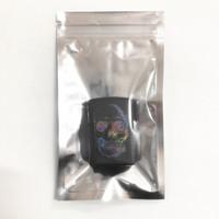 alüminyum çanta paketi toptan satış-9x16 cm Saydam Yeniden Kapatılabilir Koku Geçirmez Ambalaj Mylar Çanta Alüminyum Folyo Zip Kilit Gıda Aperatifler Hediye Vitrin Isı Mühür Laminasyon Paketi