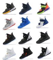 ingrosso scarpe da ginnastica medi-sneaker sportive da uomo di nuovo stile scarpe da basket di taglio medio scarpa di marca di alta qualità vol.13 Scarpe da ginnastica Scarpe da tennis sportive da uomo all'aperto Taglia 40-46