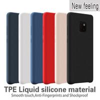 ingrosso y5 telefoni-Custodie in silicone per Huawei P30 Lite P30 Pro Mate 20 Pro lite Custodia Cover per telefono antiurto per Huawei Y5 Y6 Prime Y7 Y9
