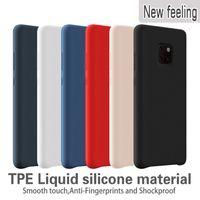 y5 teléfonos al por mayor-Estuches de silicona para Huawei P30 Lite P30 Pro Mate 20 Pro lite Funda con tapa para teléfono A prueba de golpes para Huawei Y5 Y6 Prime Y7 Y9