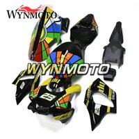 laranja r1 venda por atacado-Fibra de vidro Motocicleta Carenagens Para Yamaha YZF 1000 R1 2015 2016 ABS Injeção de Plástico Preto Laranja moto capotas Covers Sportbike Kits
