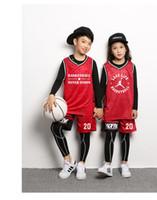 camiseta de baloncesto nueva llegada al por mayor-Ropa de niños al aire libre jesey chándal para niños Jersey Basketball New Arrival maillot basket niños