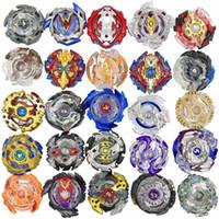 Wholesale metal gyroscope toy resale online - 24 Designs Explosive gyroscope Clash Metal D Burst Spinning Tops Boys Kids Toys Burst Party Favor Gyro toy C32