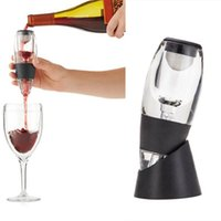 Wholesale plastic separators shipping resale online - Wine decanter hotel wedding holiday party family party bar utensils fast hangover wine separator