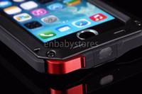 Wholesale iphone 5c metal resale online - Dirt Proof Shockproof Luxury Waterproof Case For Iphone g c splus plus X Heavy Duty Armor Metal Cover