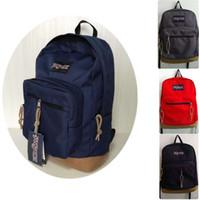 Wholesale satchel for laptop resale online - JANSPORT Big Backpack Ghost School Bag Men Womens Shoulderbag Handbag Laptop Knapsack Satchel for School Travel Sports Hiking Camping Bags