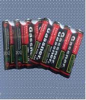 bateria de carbono de zinco venda por atacado-Baterias super do zinco do carbono de 1.5V baterias super resistentes do UM4 R03P R03 para brinquedos