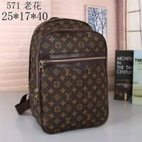 Wholesale good backpacks resale online - 2020 men Fashion backpack women good quality leather Shoulder bag Messenger boy Belt bag shoulder Crossbody