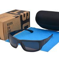 bisiklet sporu gözlükleri toptan satış-Sıcak Satış Yüksek kalitede güneş gözlüğü Polarize Lens spor güneş gözlüğü Açık bisiklet googel gözlük Perakende kutusu ve vaka ile nakliye damla