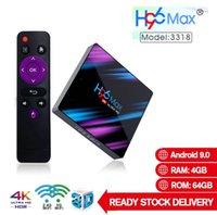 Wholesale mini max online – H96 Max Android TV Box GB GB RK3318 Smart TV Box G G WiFi Bluetooth TX3 MINI