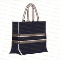 Wholesale tote bags for sale - Group buy Shopping Bag Embroidered canvas book tote High Quality Tote Bag Handbag women bags Shoulder Bag