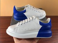 ingrosso scarpe spray-Fashion Uomo Donna Sneaker stringata in pelle Sneaker oversize con dettaglio a spruzzo suola in gomma scarpe firmate scarpe casual di moda in vendita