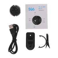 ir versteckte spionagekameras großhandel-Mini-Kamera SQ6 Full HD 1080 P Nachtsicht DV DVR Bewegungserkennung Sicherheitssensor Camcorder Tragbare Hidden 155 Weitwinkel