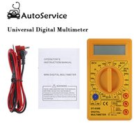 Wholesale ohms multimeter for sale - Group buy Portable Mini Digital Multimeter Tester AVO Meter AC DC Ohm Voltmeter Ammeter Professional LCD Test Leads LCD Digital Multimeter