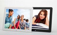 china mp3 nouveau achat en gros de-Visionneuse de photo de cadre numérique de 15,4 pouces tout-neuf de l'usine chinoise aux cadres de photo numériques