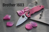 bıçak kilitleme kaliteli toptan satış-Yüksek kaliteli Katlanır bıçaklar klasör 440C blade Aixs kilit Taktik bıçaklar survival EDC Aracı Koleksiyonu Fabrika