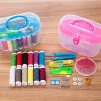 Wholesale stitching kit set for sale - Group buy Multi function Sewing Kits DIY Sewing Box Set for Hand Quilting Stitching Embroidery Thread Accessories