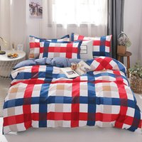 Wholesale winter bedding plants for sale - Group buy Fashion bedding sets bed linen Simple Style duvet MENGZIQIAN cover flat sheet Bedding Set Winter Full King Single Queen bed set