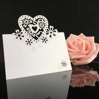 doğum günü partisi isimleri toptan satış-Lazer Kesim Kalp Şekli Tablo Adı Kart Yeri Kart Düğün Doğum Günü Partisi Dekorasyon Favor Düğün Davetiyeleri Destek Toptan