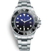 relojes de hombre rojo de alta calidad al por mayor-Relojes de lujo para hombres Relojes mecánicos automáticos Reloj rojo de alta calidad Basel Red SEA-DWELLER Reloj de acero inoxidable de 44 mm Relojes de pulsera a prueba de agua 30M