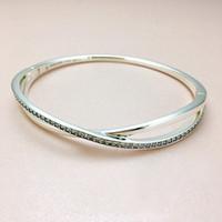 novos anéis de prata esterlina venda por atacado-NOVA Moda de Luxo CZ Diamante Pulseira das Mulheres Logotipo caixa Original para Pandora 925 Sterling Silver Star anel Pulseira