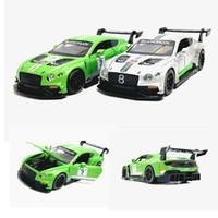 estradas plásticas para carros de brinquedo venda por atacado-1:32 GT3 Liga Modelo de Carro Modelo de Metal Diecasts Veículos Roadster Para Crianças Brinquedos Presentes Frete Grátis