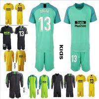 menino diego venda por atacado-2019 2020 camisa de goleiro de futebol camisa KIDS OBLAK GRIEZMANN KOKE DIEGO COSTA jersey meninos 18 19 camisetas de futbol Uniformes de Goalie