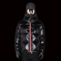 kışlık ceketler unisex parkas toptan satış-2019 Lüks Ceket Parka Erkekler Kadınlar Klasik Casual Aşağı Ceket Palto Erkek Açık Sıcak Tüy Kış Ceket Unisex Coat Dış Giyim Boyut S-2XL
