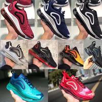 timeless design 8a3c8 95806 nike air max 720 Tranier Top Qualité Chaussures de Course Pour Femmes Hommes,  Léger Respirant Athlétique Espadrilles En Plein Eur 36-45
