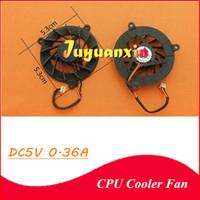 ventiladores de refrigeración asus cpu al por mayor-Nuevo ventilador de refrigeración de la CPU para ASUS A8 X81 F3J A8J M51 A6000 A3000 F8V N80V N81V M51 z99 F3 3Pin line Laptop Notebook Cooling Fan