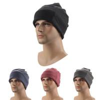 головные уборы оптовых-Спортивная шапка на открытом воздухе езда шляпа головной убор зима езда на велосипеде шапка шарф шарф теплая шапка LJJZ526