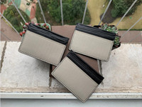 Wholesale card id resale online - New Mens Fashion Classic Design Casual Credit Card ID Holder Hiqh Quality Real Leather Ultra Slim Wallet Packet Bag For Mans Womans with box