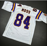 Wholesale Custom Men Youth women Randy Moss Mitchell Ness Football Jersey size s XL or custom any name or number jersey