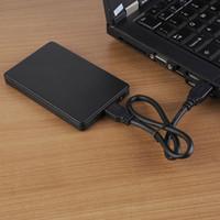disco duro ssd 2.5 al por mayor-Caso 2.5 SATA HDD a USB 3.0 Adaptador Caja para disco duro externo caso para SATAII HD SSD duro Disk Box