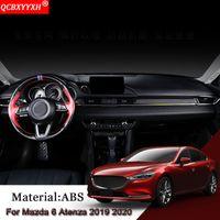 Wholesale car moulding trim strip for sale - Group buy Car Styling Car Central Control Decoration Strip Trim Sequins Sticker Interior Moulding Accessories For Atenza
