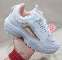 наружная обувь кемпинг оптовых-36-45 новых супер дизайнер марки ретро Разрушителей II 2 кроссовок на открытый воздухе кемпинг неуклюжей обуви дышащих удобной обуви женщины