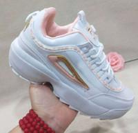 açık hava ayakkabıları kamp toptan satış-36-45 yeni Süper marka tasarımcı Retro bozucular II 2 spor ayakkabısı Aksak ayakkabılar Nefes rahat yürüyüş ayakkabıları kadınlar kamp Açık