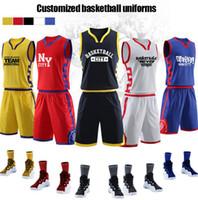 camisetas de baloncesto juvenil al por mayor-Nuevos trajes de baloncesto, estudiantes universitarios personalizados para hombres, entrenamiento, camisetas, impresión, impresión, Gran Muralla, estilo chino, estilo chino