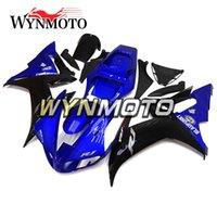 вторичный рынок мотоциклов оптовых-Синие Черные Рамки Тела Для Yamaha YZF1000 R1 2002 2003 Полные Рамки Тела Велосипеда R1 02 03 Aftermarket Мотоцикл Пластиковые Панели Новый