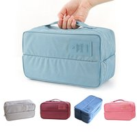 Wholesale bedding sets packaging for sale - Group buy Multifunction Double Open Travel Storage Bag Waterproof Storage Box Package Luggage Tidy Organizer for Clothing Makeup Tools Bag