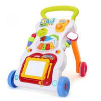 ingrosso vecchio giocattolo aereo-Carrello per bambini Girello multifunzione 0-1 anni Prevenzione giocattoli per bambini O-Legs Strumento Wordpad per bambini