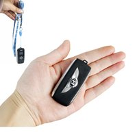mini celular desbloqueado al por mayor-Desbloqueado Cute Mini Car Key Modelo de teléfono celular Dual Sim Card Magic Voice Bluetooth Dialer MP3 One Key Recording GSM Móvil Celular