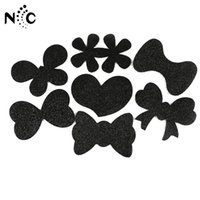 Wholesale clip bangs black hair for sale - Group buy High Quality Fashion Black Large Girls Bangs Magic Paste Posts Hair Sticker Clip Tape Fringe Patch Hair Accessories New